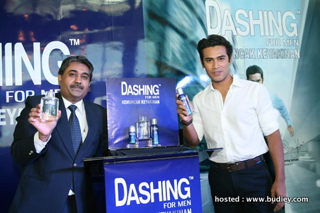 Mr Kumar Chander and Remy Ishak withDASHING FOR MEN