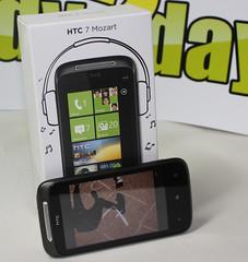 HTC 7 Mozart mit Box