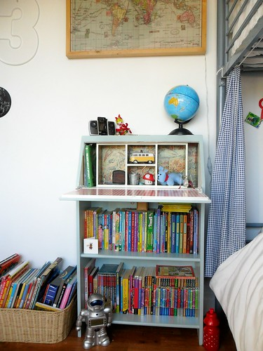 up-cycled bookcase