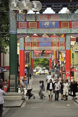 Chinatown, Little Bourke Street, Melbourne