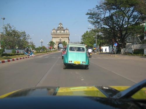 Oldtimer Rallye in Vientiane