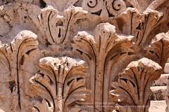 Beit Shean, Detail of a Roman pilar (blauepics) Tags: city houses detail architecture pilar israel ruins roman palestine east jordan stadt architektur historical middle osten palstina byzantine ruinen beit huser rmisch historisch shean sule mittlerer