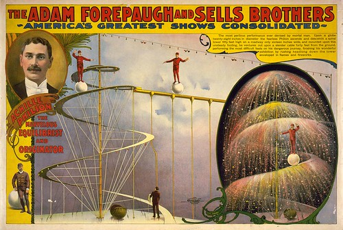 009-The Adam Forepaugh and Sells Brothers America's greatest shows consolidated--Achille Philion the marvelous equilibrist and originator 1999-Library of Congress