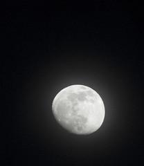 Fuzzy Moon (Gamma Infinity) Tags: moon diffusion hazy 200mm