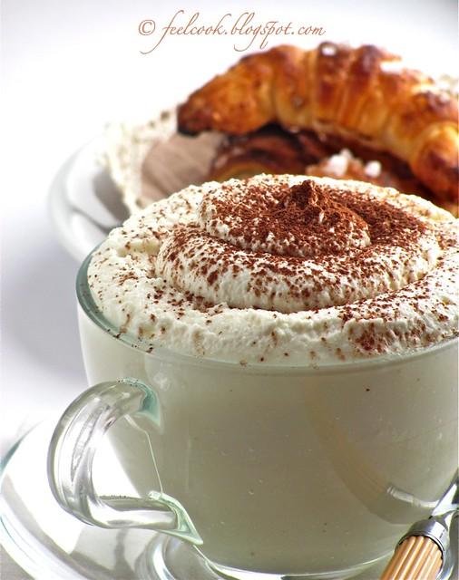Cappuccino di topinambur