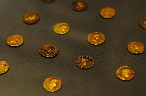 Pompeii Roman Coins