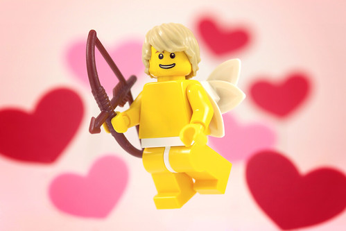 Custom minifig Cupid