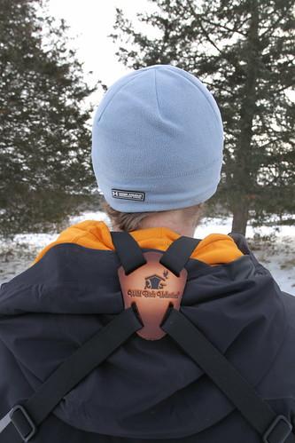 Back View of Binocular Harness