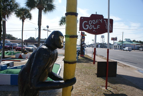 Goofy Golf in Ft. Walton Beach