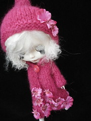 Orchid - Winter Warmer coat for Blythe