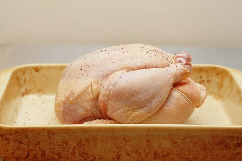 trussed chicken