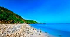 Alone (jetrated) Tags: ocean beach landscape paisaje curacao caribbean netherlandsantilles playamanzanilla ldelongdaytimeexposure