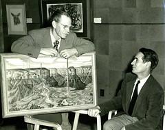 Alexandre Hogue and Hank Barrows