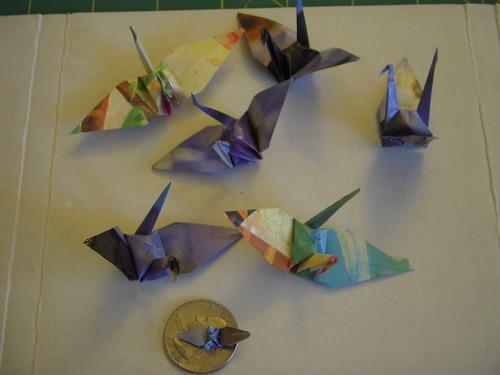 Origami #15: Cranes