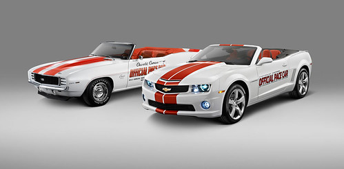 Chevrolet and the Indianapolis Motor Speedway announced that a special Chevrolet Camaro Convertible has been selected=
