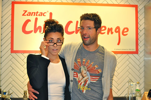 Erin Ireland, Anthony Sedlak @ the Chili Challenge