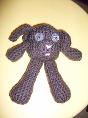 Moose (octosquirrelbot) Tags: toy crochet chocolatelab yarn amigurumi