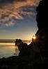 Misty Mono Morning Rays (jeandayphotography.com) Tags: california ca sun lake fall water silhouette fog clouds sunrise star october desert monolake tufa 2010 leevining mhw jday easternsierranevada jeanday mountainhighworkshops