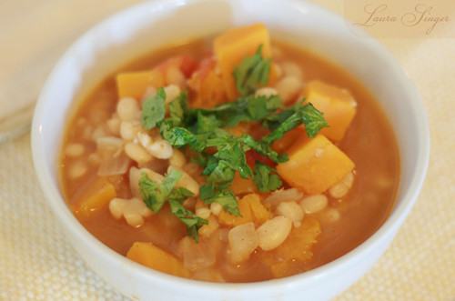 White Bean & Winter Squash Stew