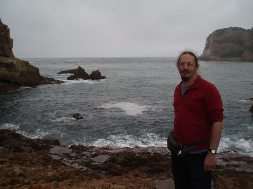 Gerhard at the Knysna Heads - South Africa