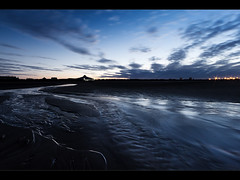 Blue dawn, Crosby beach. Explored (Ianmoran1970) Tags: blue beach swimming dawn sand explore crosby explored ianmoran ianmoran1970
