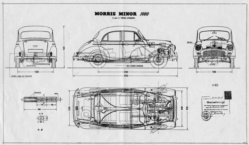 Flickriver most interesting photos from car blueprints pool morris minor 1000 1956 blueprint malvernweather Gallery