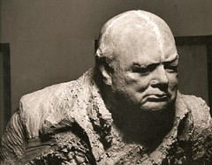 Oscar Nemon Churchill bust