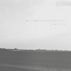 Lost (Sylvia Houben) Tags: lost blackwhite quote