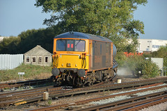 3W75 73128 on the back of Tonbridge Yard - Tonbridge Yard (Adam McMillan Railway Photography) Tags: as well oprating vstp required paths gb railfreight operate booked 3w7475 that runs 7 days week from tonbridge yard covers whole kent on tuesday 4th october saw 73212 tnt 73128 take control working have done since sunday 2nd