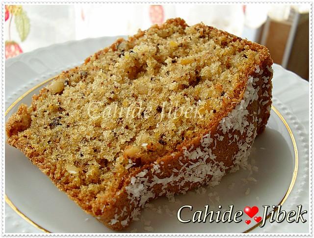 Kabaklı kek tarifi