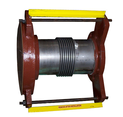 Side View of Metallic Expansion Joint