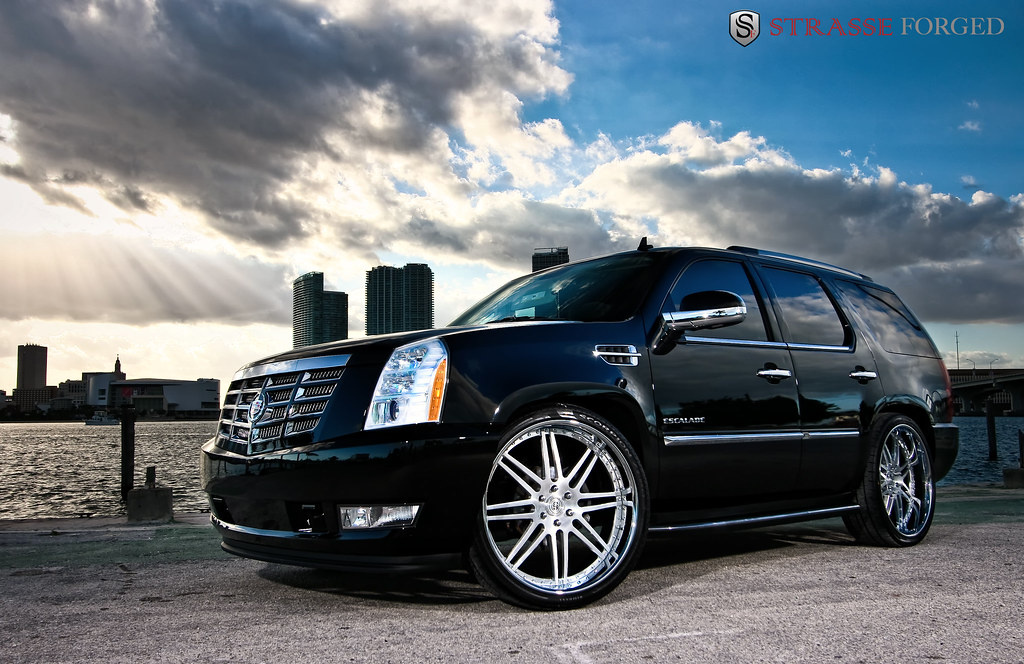 Strasse Forged Photoshoot Cadillac Escalade The Port Of