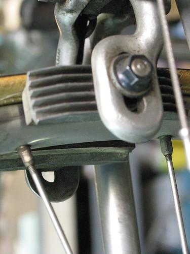 Brakes and spokes
