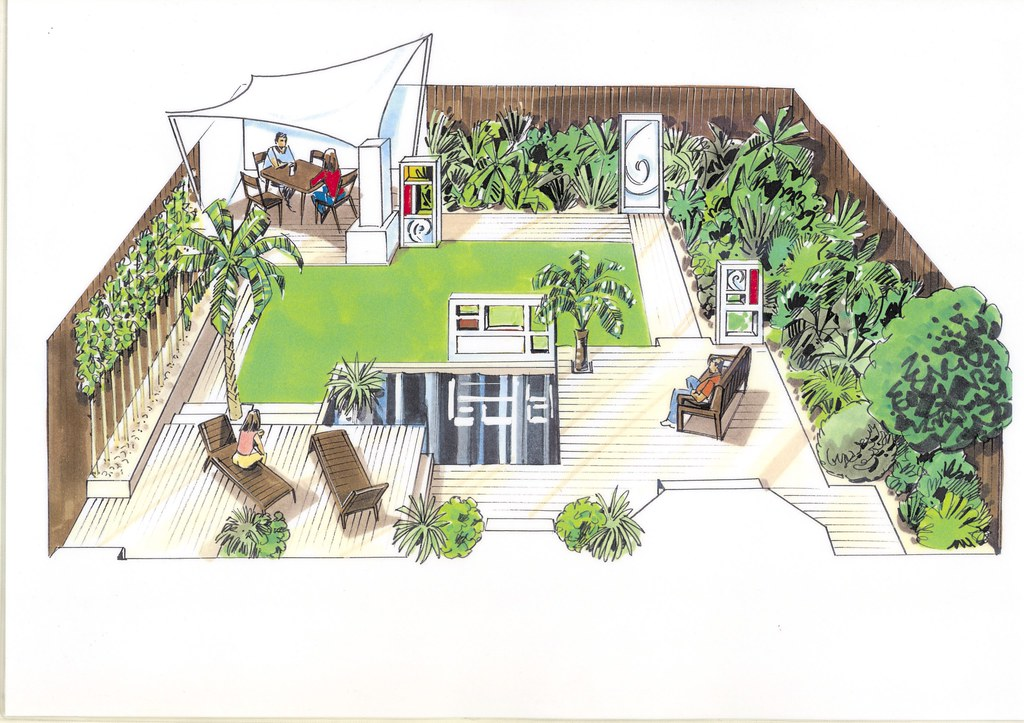 The Cubists Garden