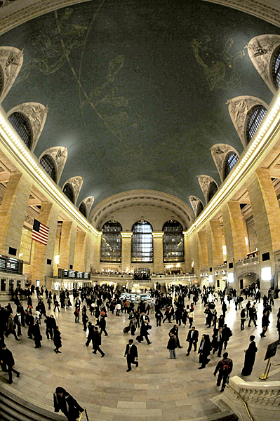 Grand Central Train Terminal, NYC, New York by Karen Strunks