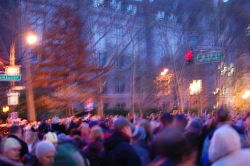 Thanksgiving frenzy NYC