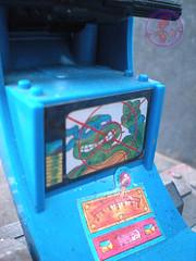 "TEENAGE MUTANT NINJA TURTLES :: ""Technodrome Scout Vehicle"" { 1993 } KB Toys Reissue // ..detail xii   (( 1998 ))"
