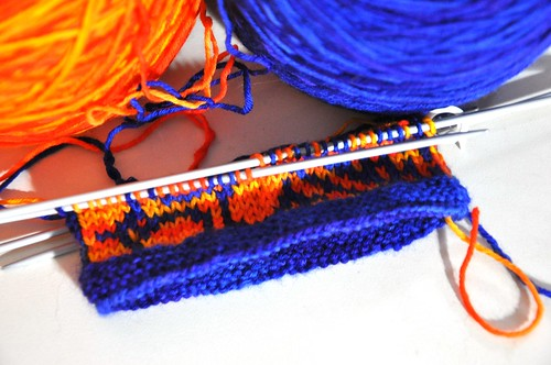 Heart of the Mesa mittens, the beginning