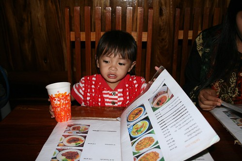 Nong Ja Checking Menu