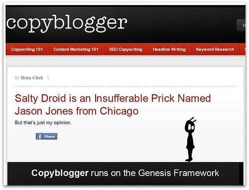 Brian Clark No Like Salty Droid :: Part 2
