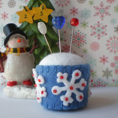 Bottle Cap Pincushion #521