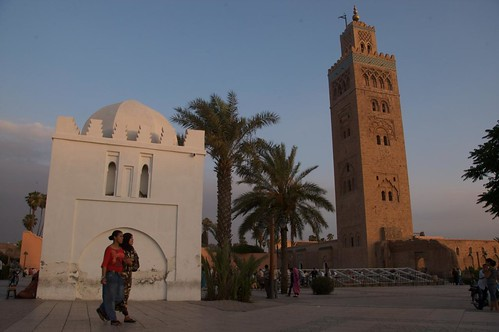 Koutoubia Mosque and Lalla Zohra Qobba Marrakech