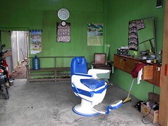 Geumpang salon (Mangiwau) Tags: blue beauty fashion colin shop hair sumatra indonesia chair style helicopter barbershop barber hairdresser customer salon curl aceh hairstyle indonesian pilot laki tuck intan stylist hairstylist potong acehnese rambut pidie kecantikan angkasa geumpang pangkas