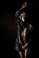 She Did A Shoot For Glam Couture Magazine (TJ Scott) Tags: fashion nao fauxfur tjscott glamcouturemagazine
