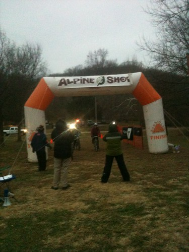 Castlewood 8 hour finish line