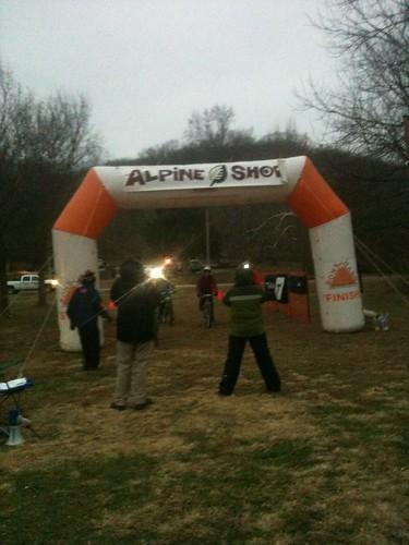 Castlewood 8 hour finish line