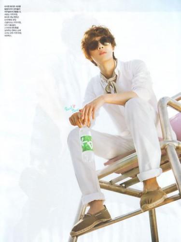 Kim Hyun Joong in ELLE Magazine