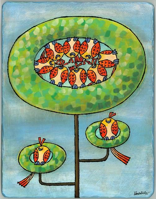 #500 Doughnut Tree