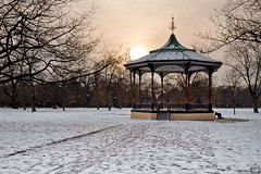 And Then You Left (MonkeyPolice) Tags: park snow dawn greenwich wonter monkeypolice