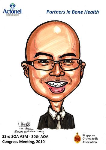 Caricatures for Sanofi-Aventis - 25